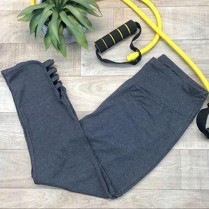 RBX gray yoga Capri size M nwot